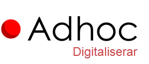 Adhoc - Digitaliserar